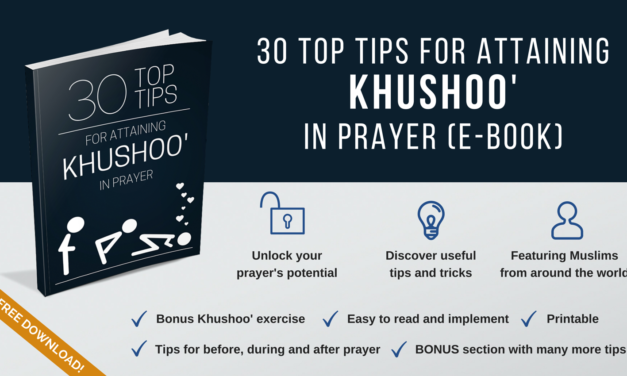 Free eBook – How To Attain Khushoo' in Prayer