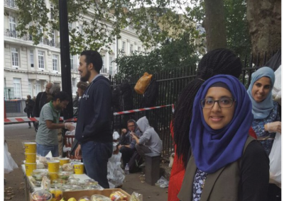 Zara Mohammed Homeless Volunteering