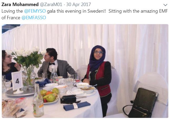 Zara Mohammed Sweden