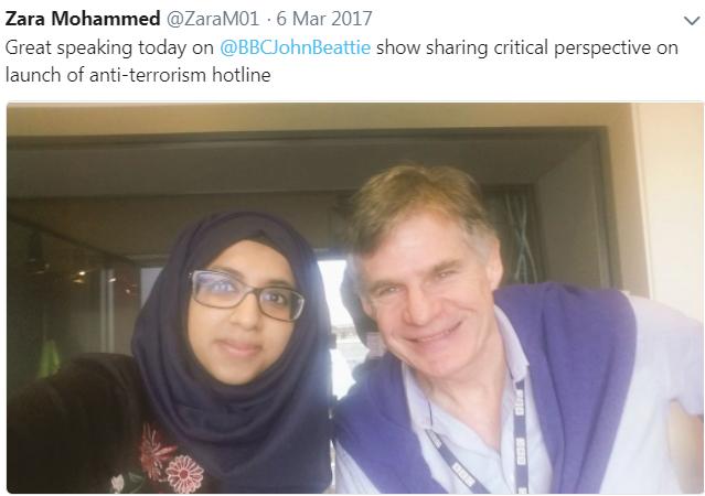 Zara Mohammed BBC