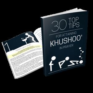 30 top tips for attaining khushoo eBook