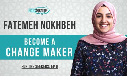 How to Be a Positive CHANGE MAKER at University – Fatemeh Nokhbeh